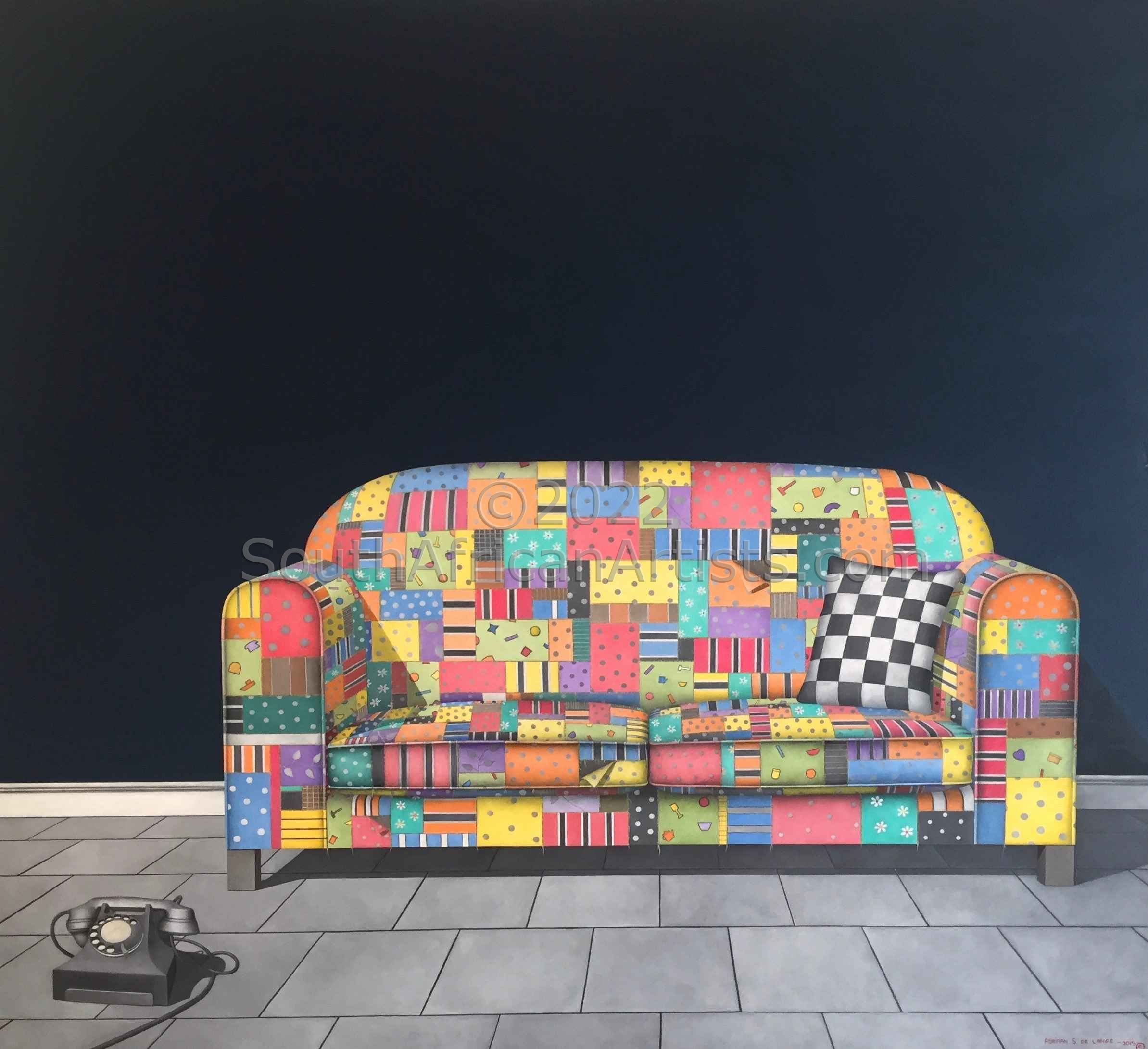 A Couch of Colour