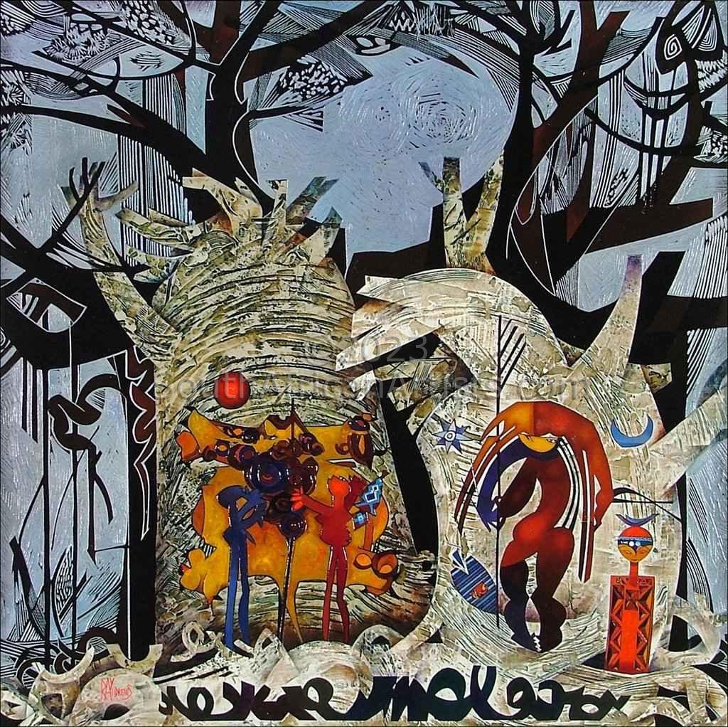 Makarikari Baobabs - Digital-