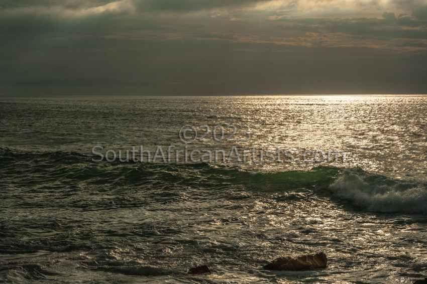 Silver Sea at Sunrise