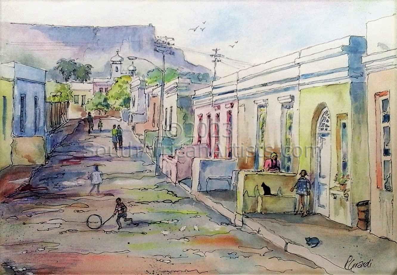 Malay Quarter Street Scene