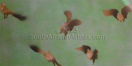 Flower Bellied Birds