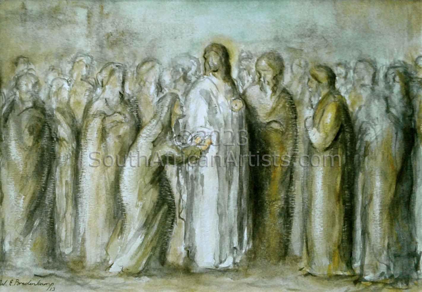 Christ and the Bleeding Woman