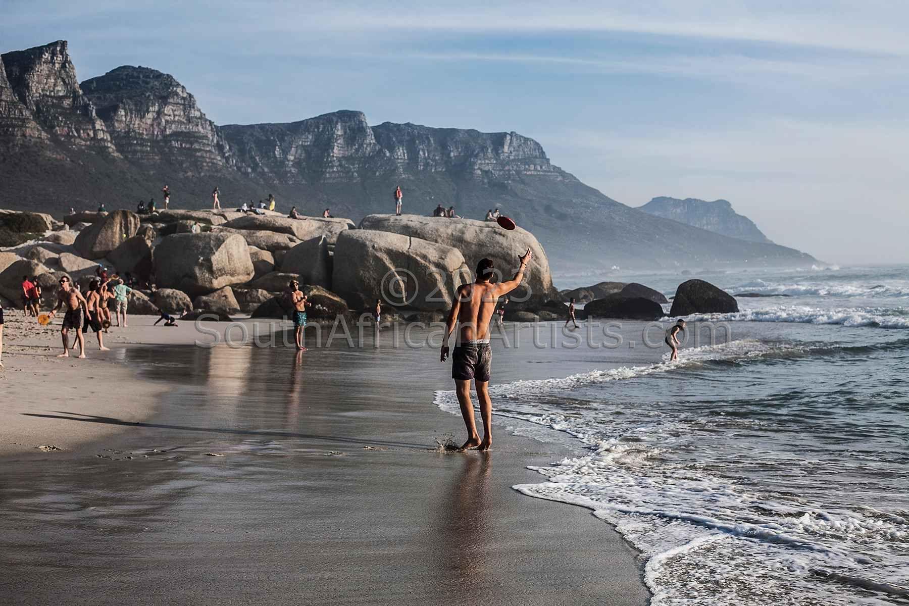 Frisbee Glen Beach, Cape Town