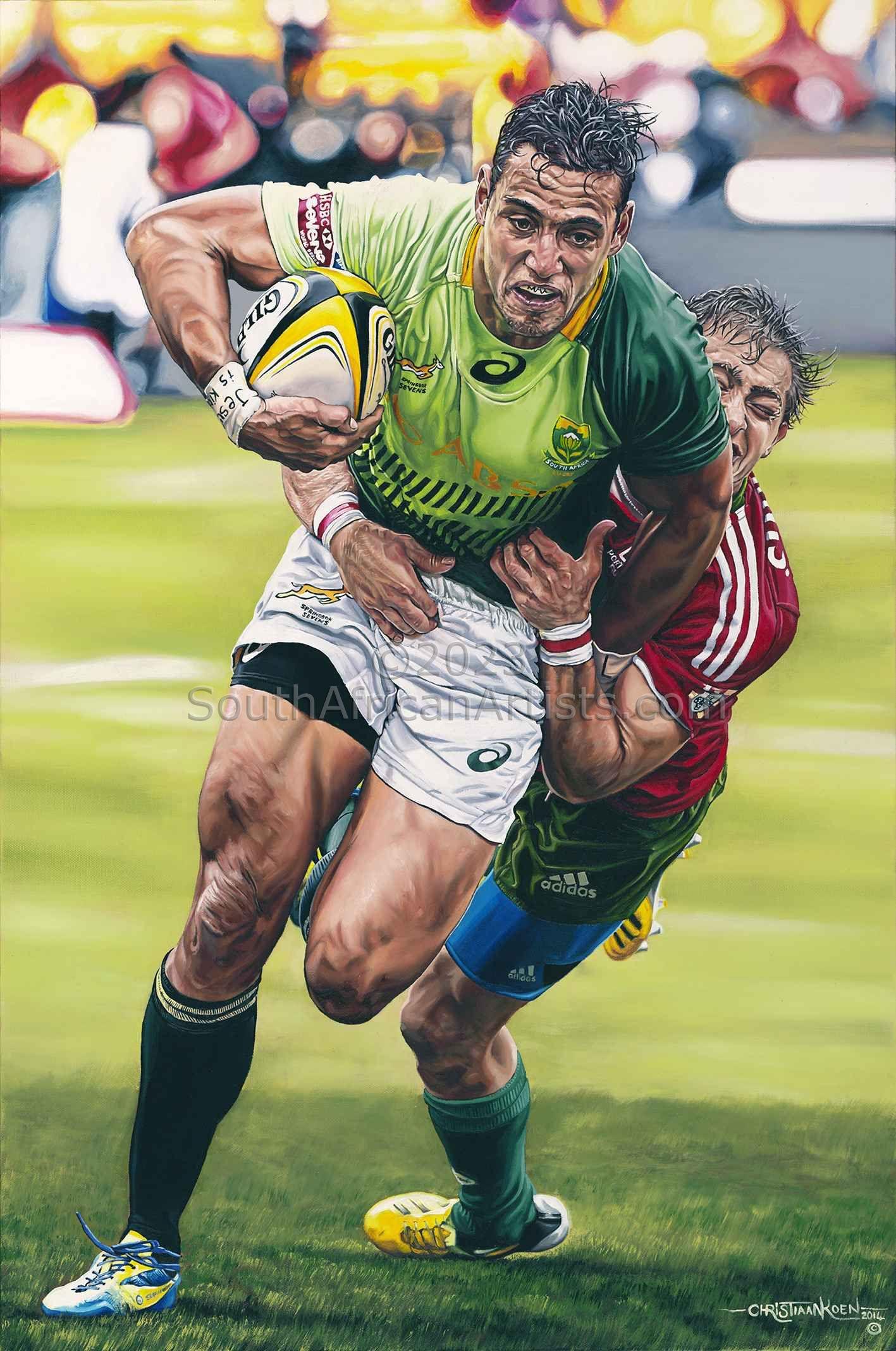 Springbok Sevens Rugby: Chris Dry