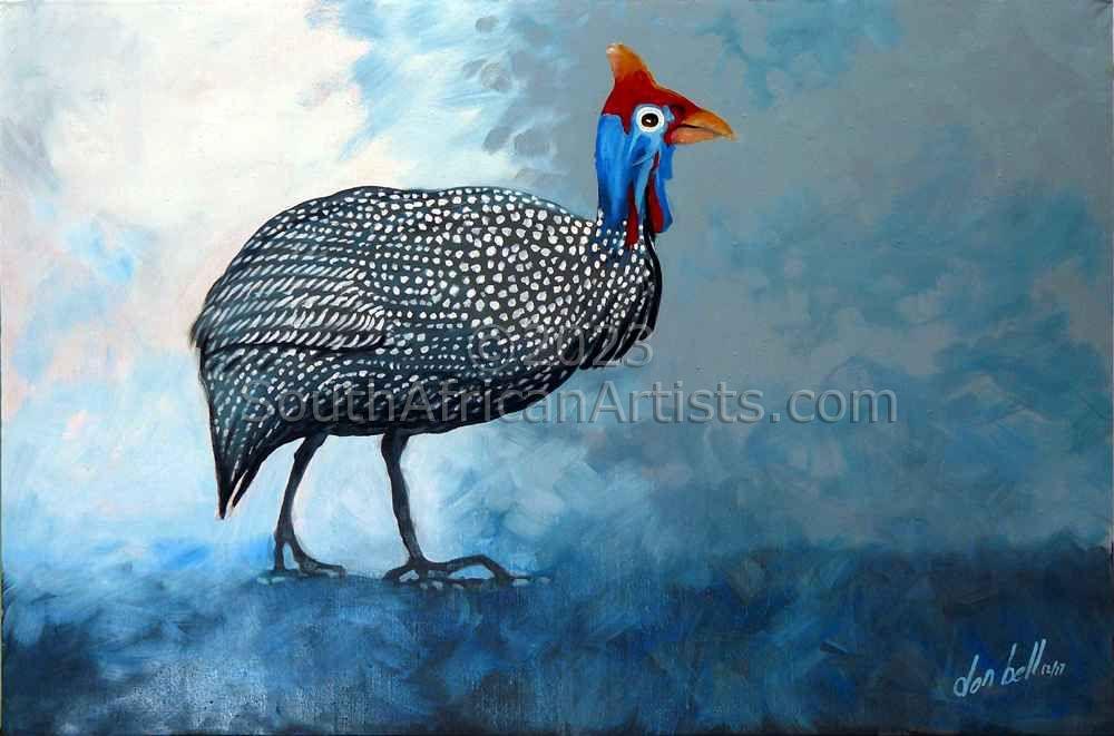 Guinea Fowl #2