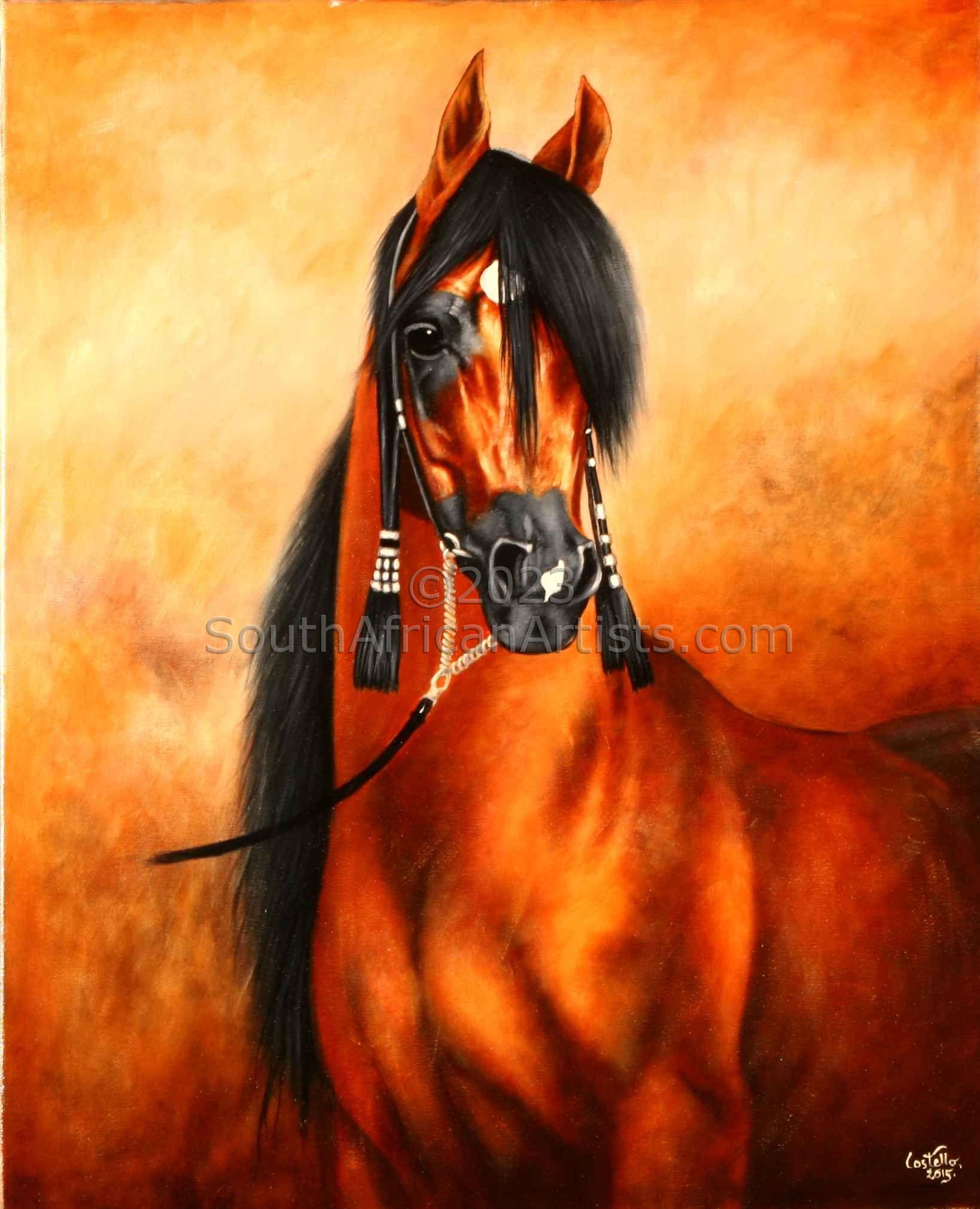 Arabian with Tassels