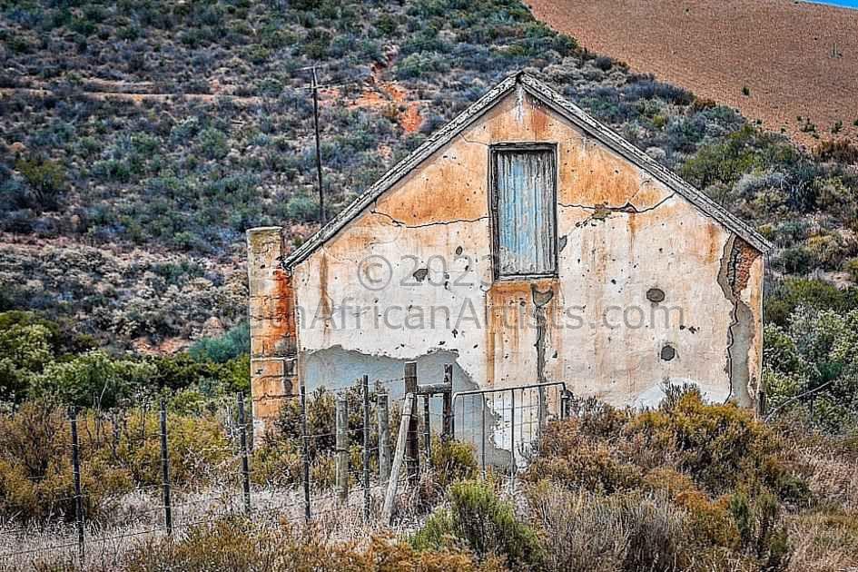 Old Clay-Brick Farm House