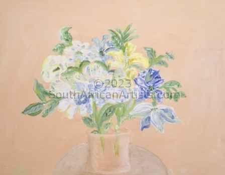 Blue Stillife