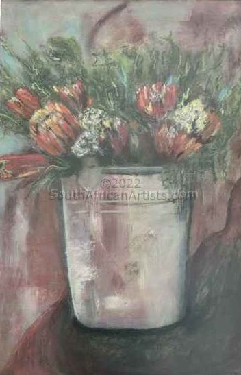 Proteas in a Bucket
