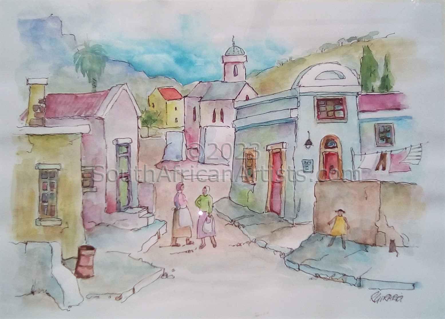 Bokaap Street Scene