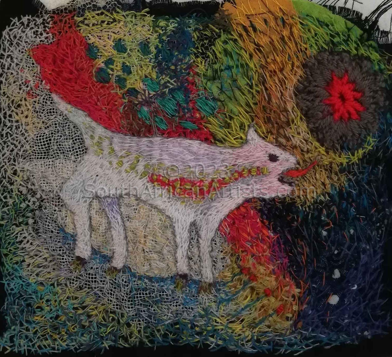 Barking Dog (Embroidered)