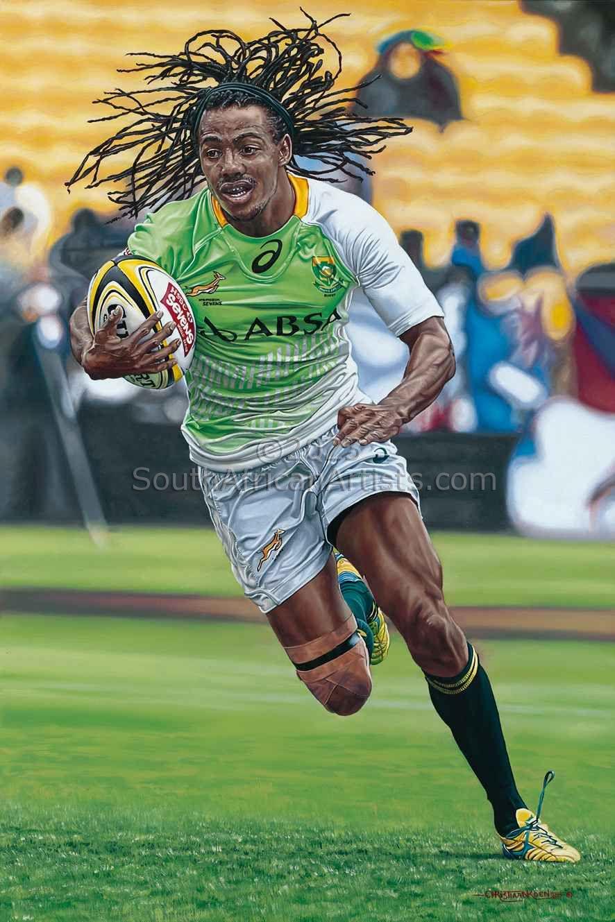 Springbok Sevens Rugby: Cecil Afrika
