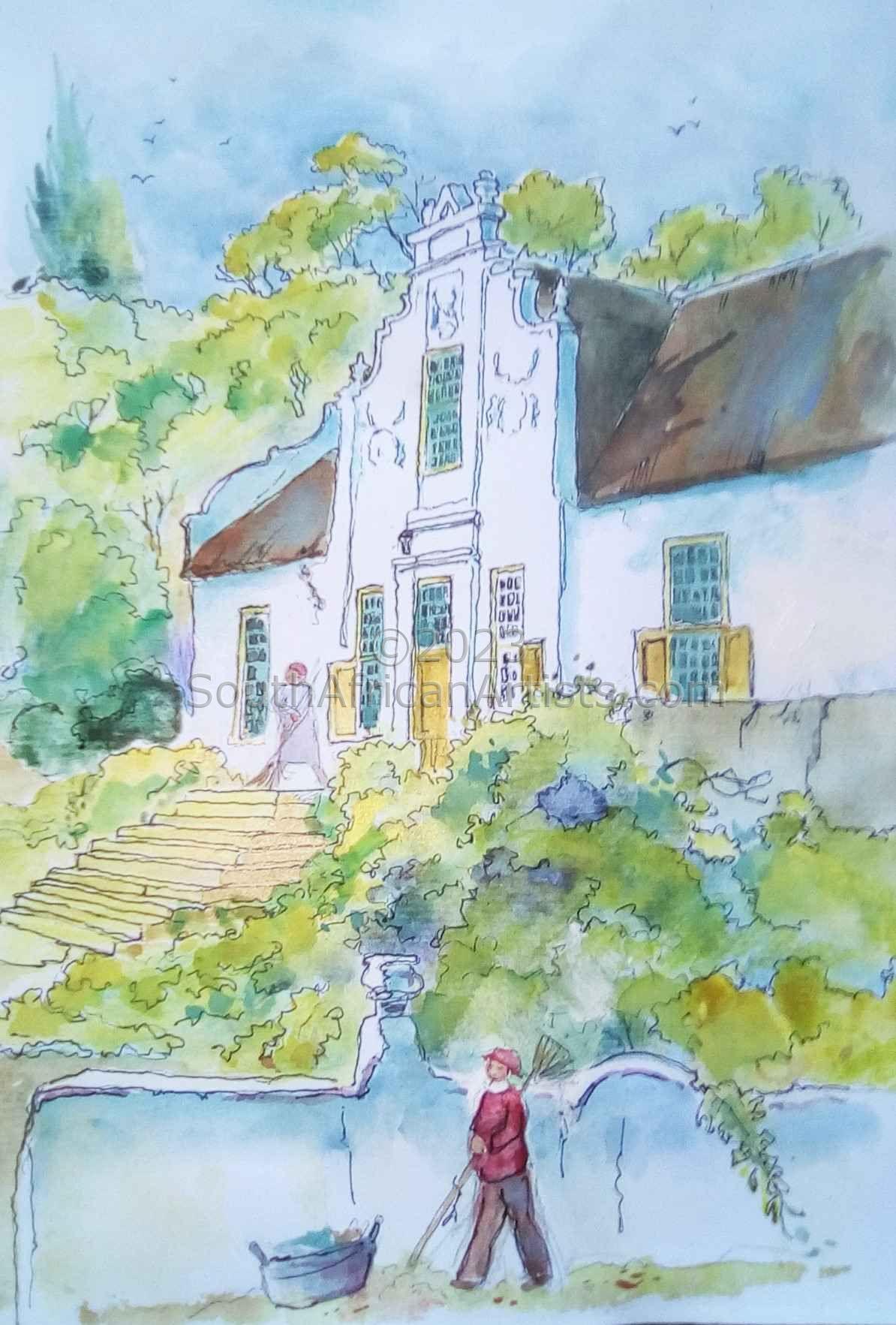 Cape Dutch Homestead