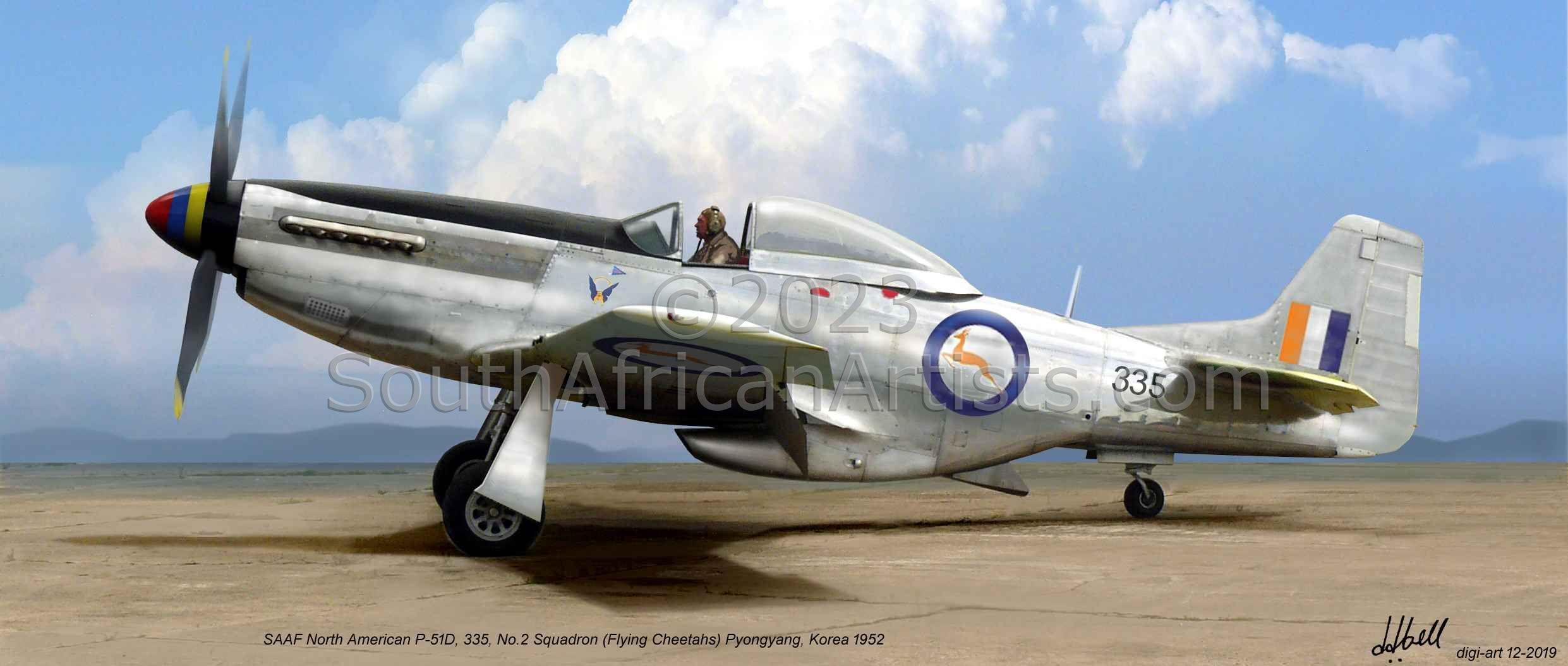 Saaf Mustang P-51d Korea
