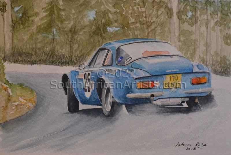 Renault,Alpine, Rally, 1971