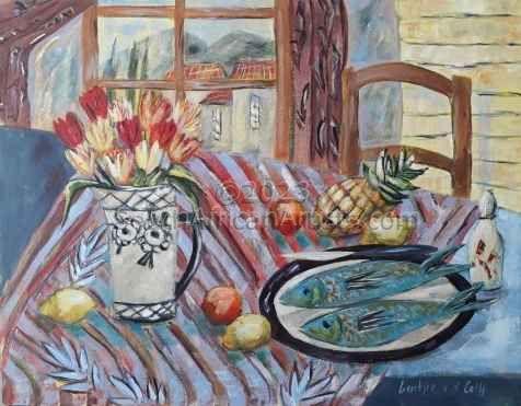 Bohemian Kitchen Still Life 2