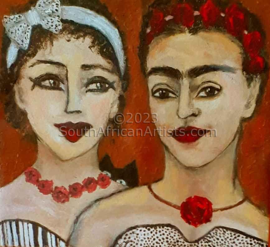 Sadie and Frieda Kahlo