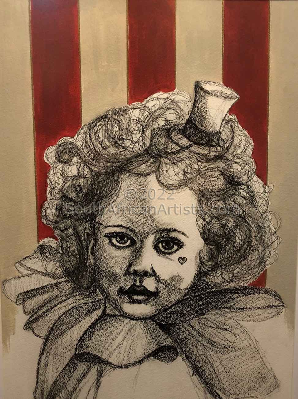 The Little Pinstripped Clown - Lacy