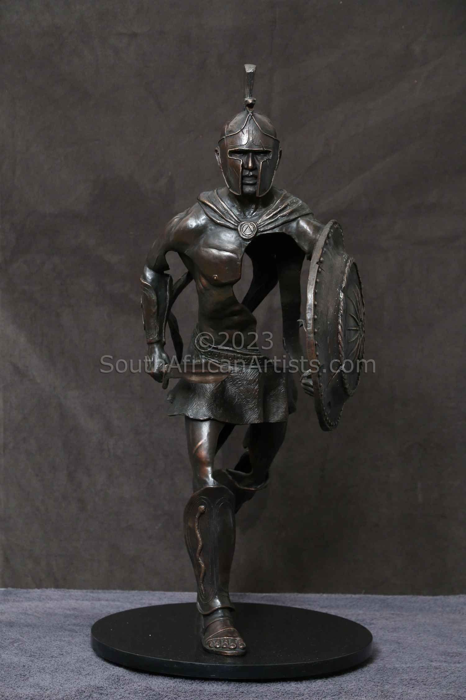 Spartan Warrior Bronze (Ltd Ed of 15)