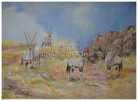 Oryx - Gemsbuck