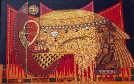 African Head III