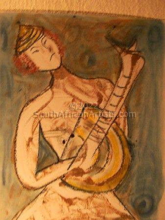 Mandolin Player I