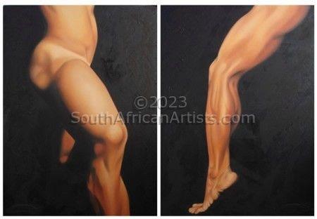 Leg & Thigh Diptych