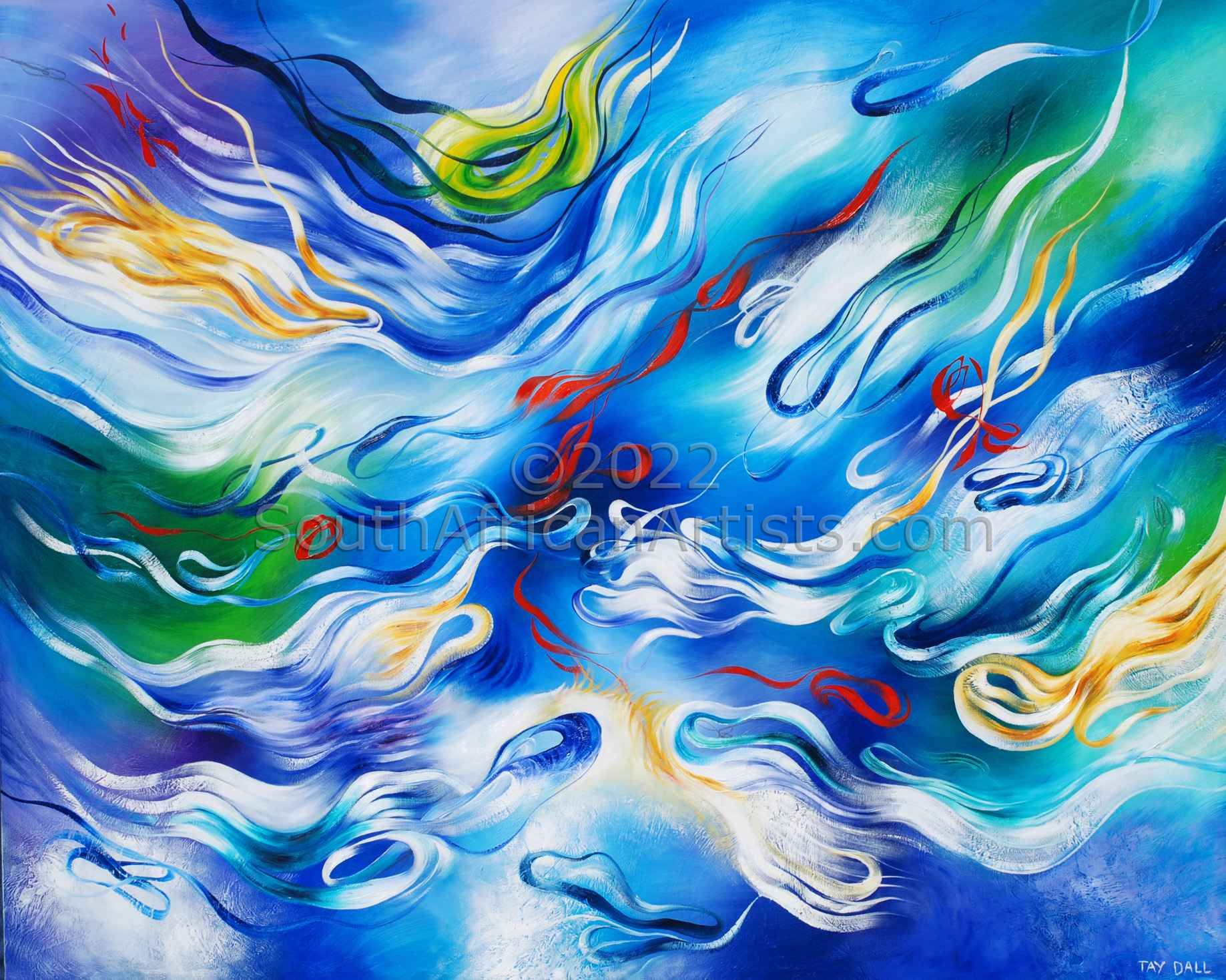 Large Riverflow - 2903