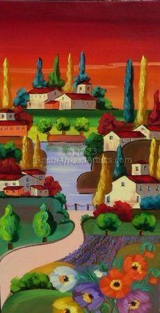 Landscape Panel Right