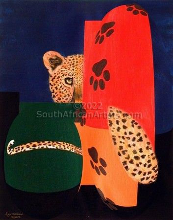 Leopard and Paws