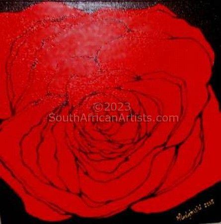 Cadmium Red Rose