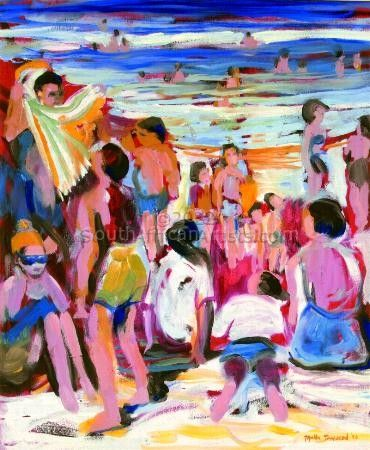 Crowd in the Sun