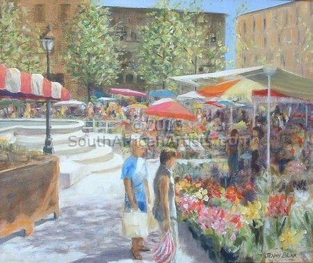 Spring Market - Carcasonne, France