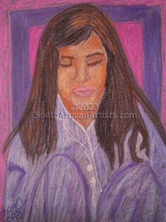 Girl in Lilac