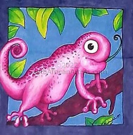 Funky Chameleon