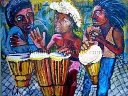 Three Drummers