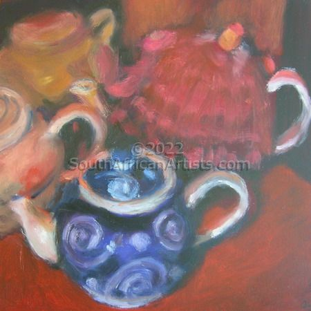 Magdaleen's Teapot Collection 2