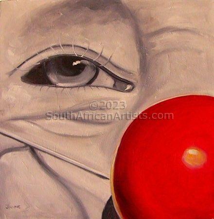 The Clown's One Eye