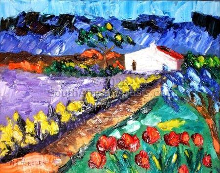 Road to farmhouse