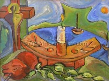 Candlestick and Boats