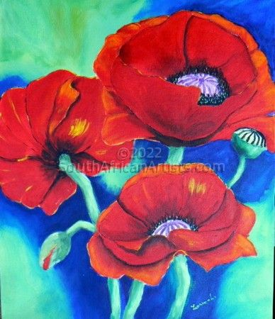 Smiling Poppies