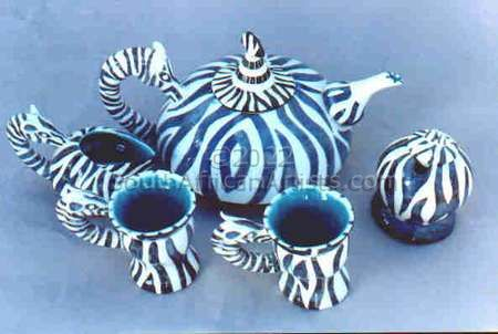Zebra Teaset