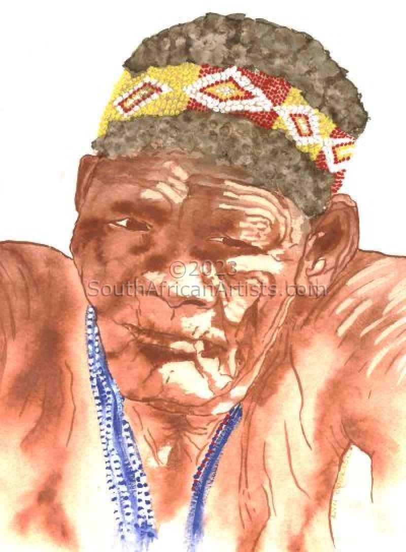 Bushman Portrait