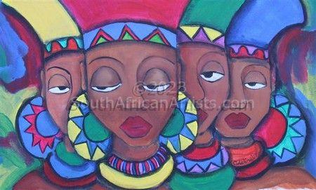 1a Zulu Girls' Headgear