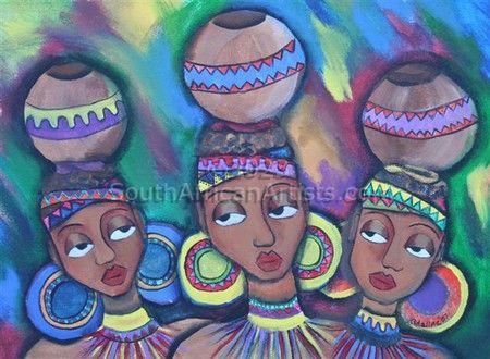 1f Zulu Girls' Pots
