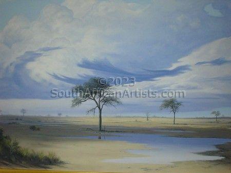 Botswana Landscape - Nata