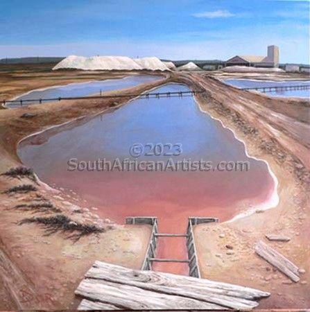 Salt Pan at Coega, Port Elizabeth