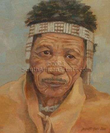 Namibian Bushman