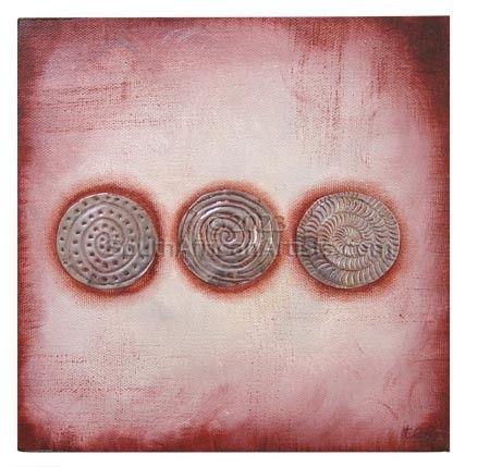 3 Rust Circles