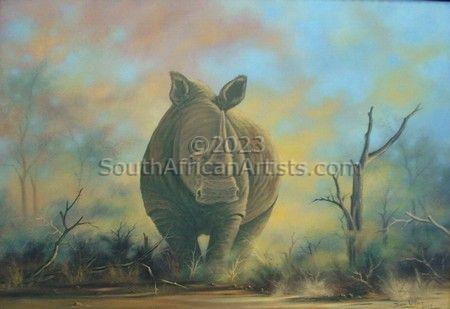 White Rhino - Commissioned Work